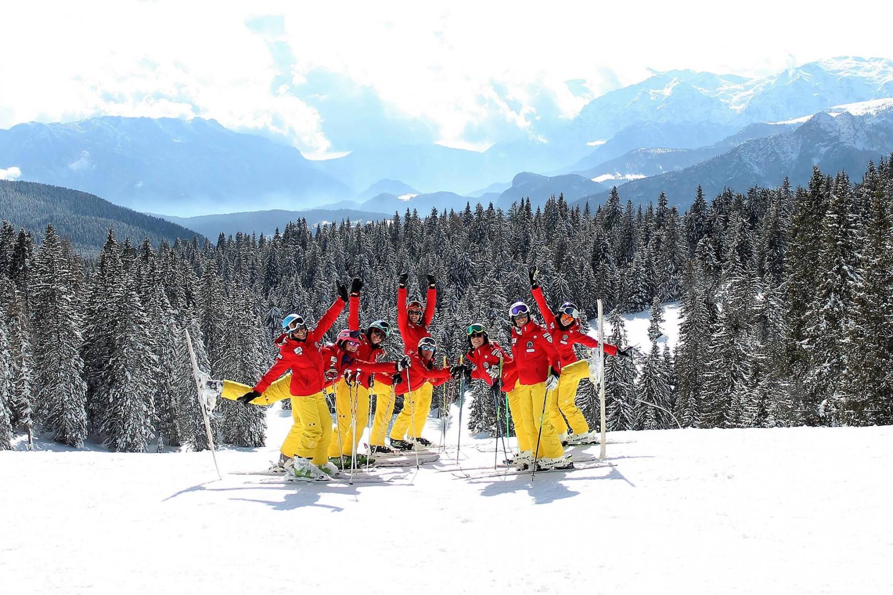Lezione privata di sci sul Monte Verena per tutti i livelli