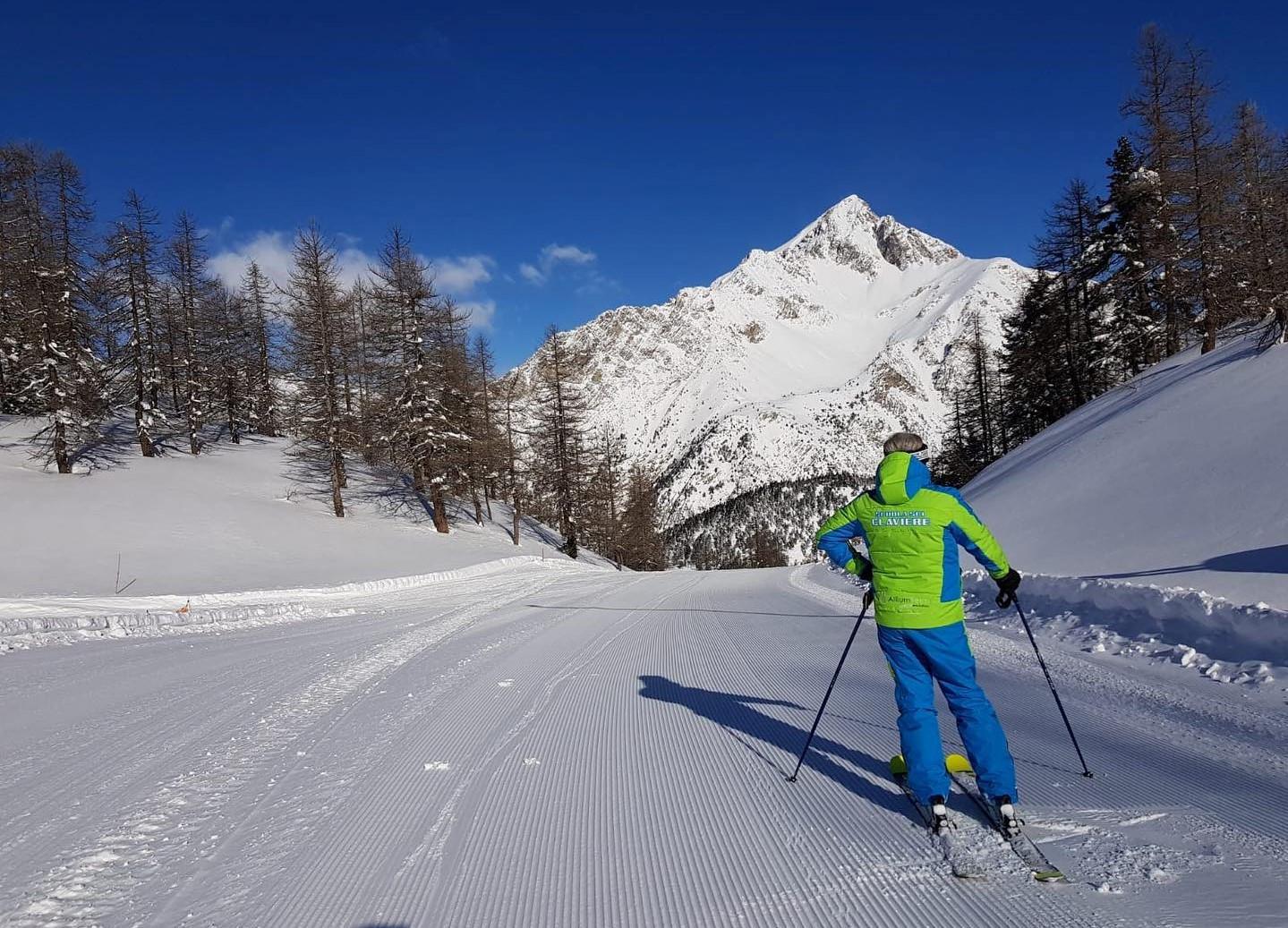 Lezione privata di sci per tutti i livelli a Claviere in Val di Susa