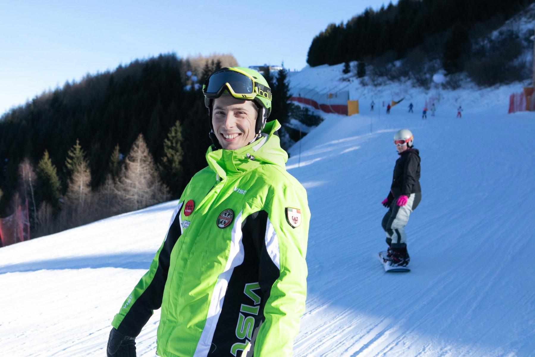 Lezione individuale di snowboard sul Monte Bondone per tutti i livelli