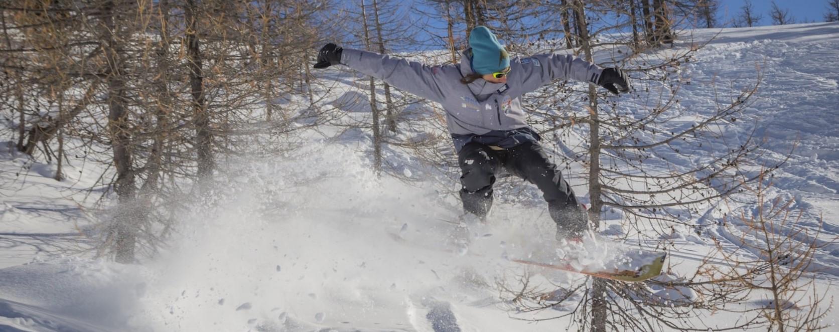 Lezione privata di snowboard per tutti i livelli a Claviere in Val di Susa