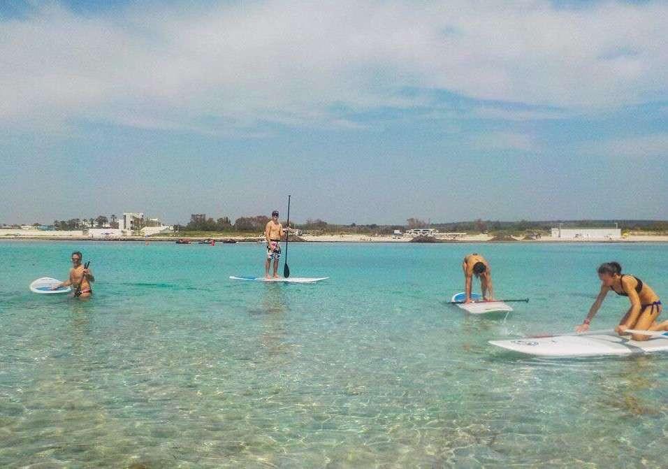 Mini-corso di Stand Up Paddleboard a Ugento in Salento