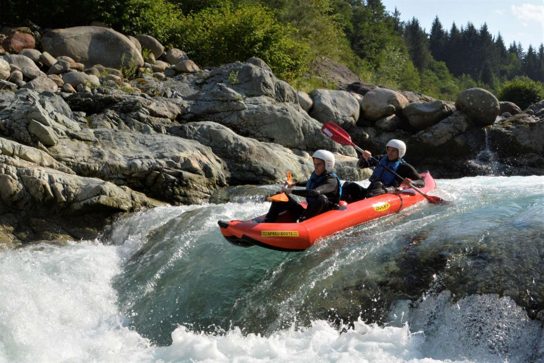Mini-Raft Classico in Valsesia