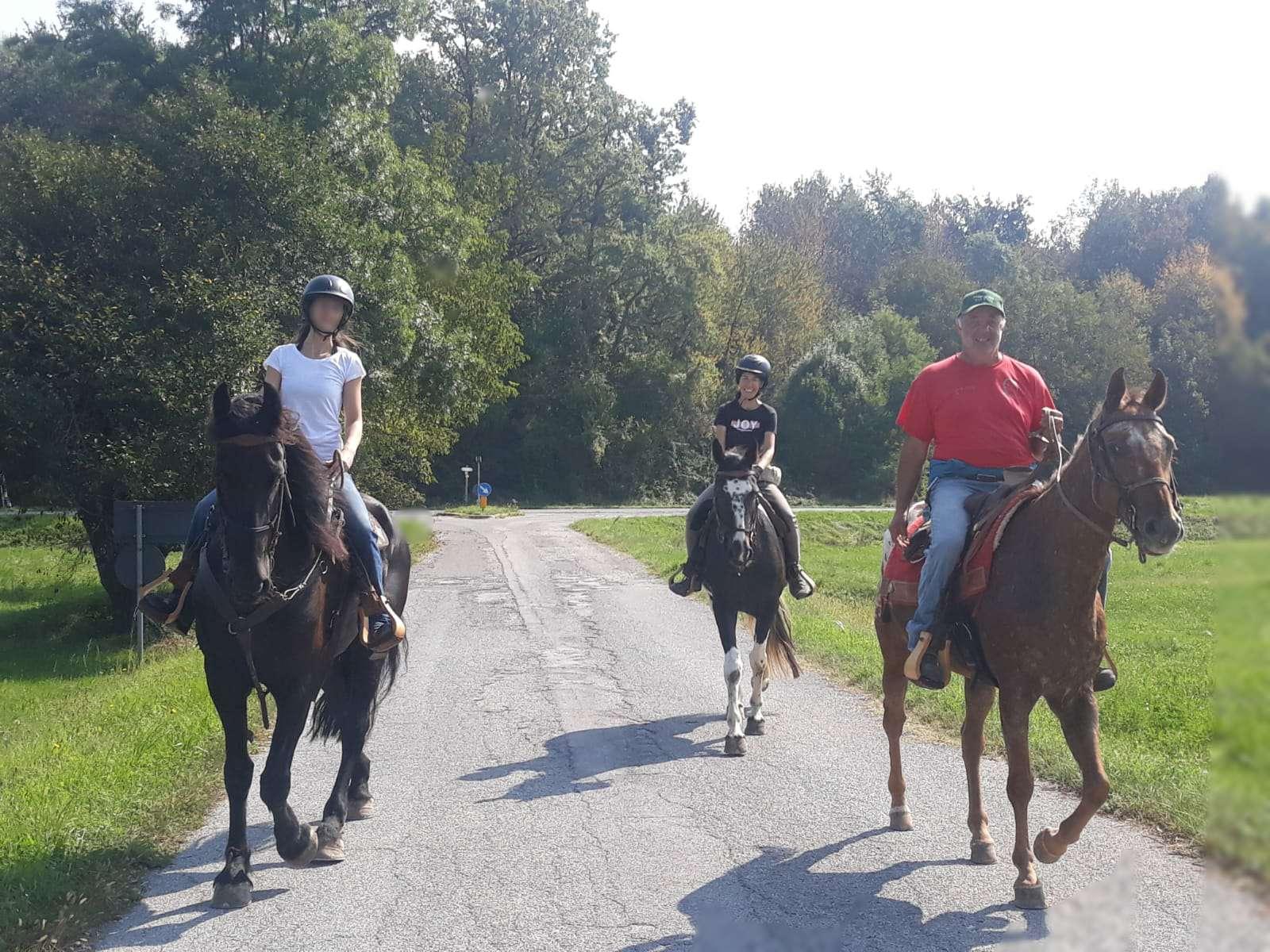 Passeggiata a cavallo in Valle Pesio (Cuneo)