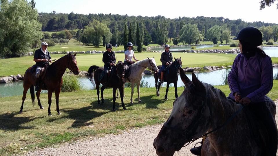 Passeggiata a cavallo nei boschi di Lurisia Terme (CN)