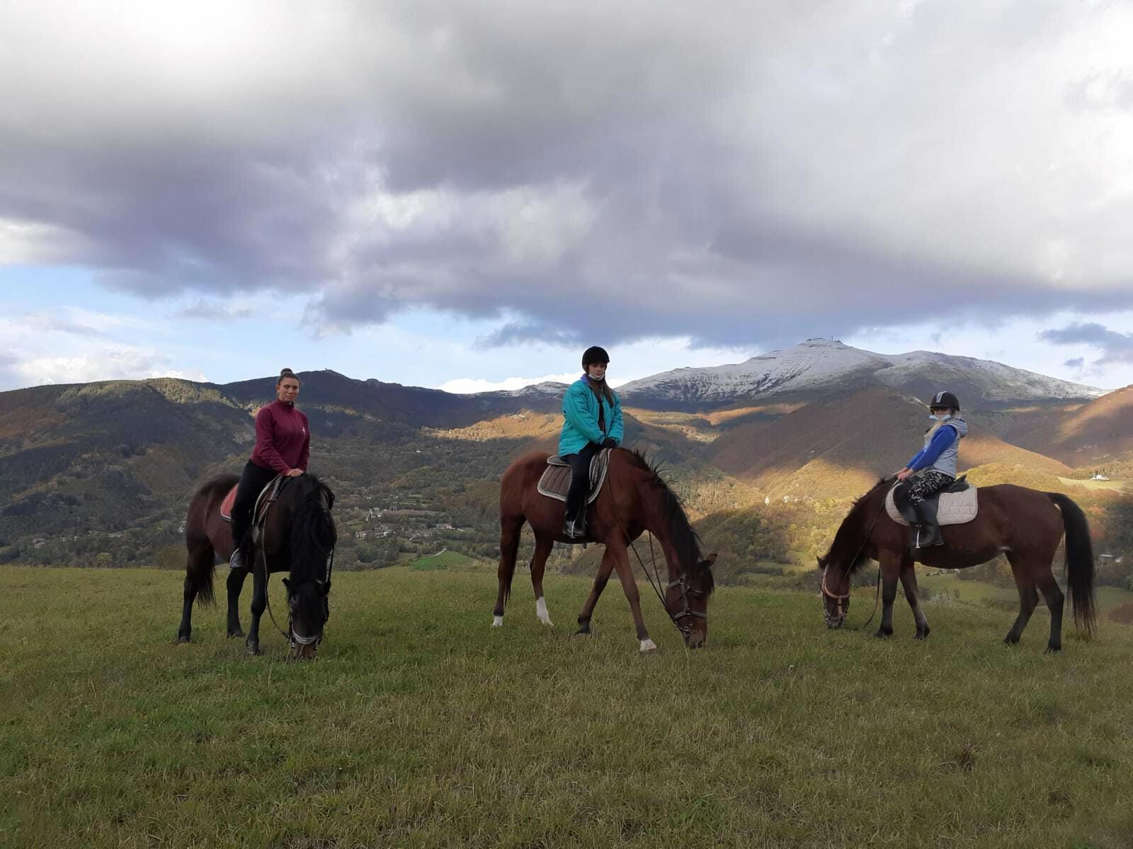 Passeggiata a cavallo sull'Appennino Tosco-Emiliano
