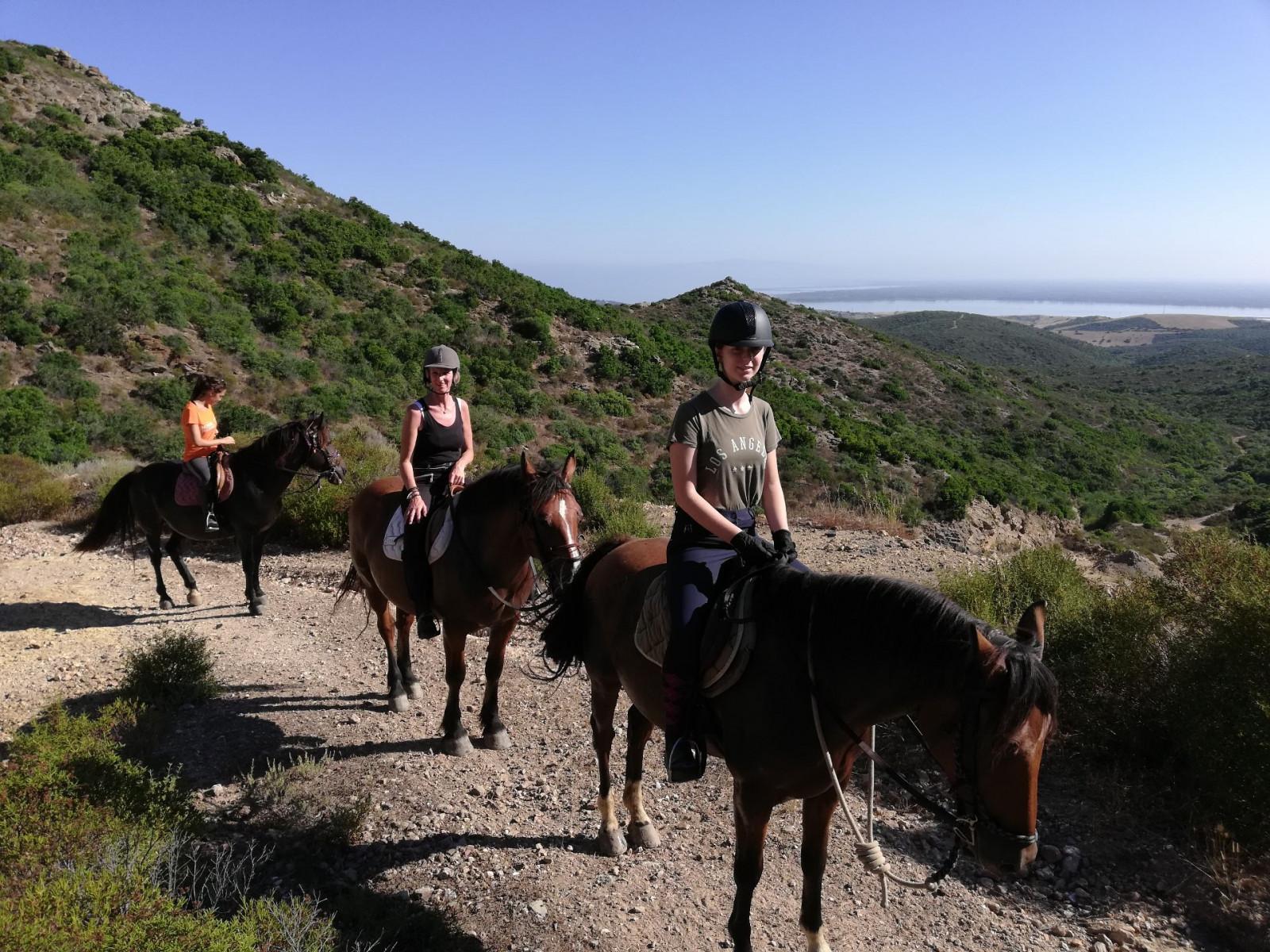 Passeggiata a cavallo ad Arbus