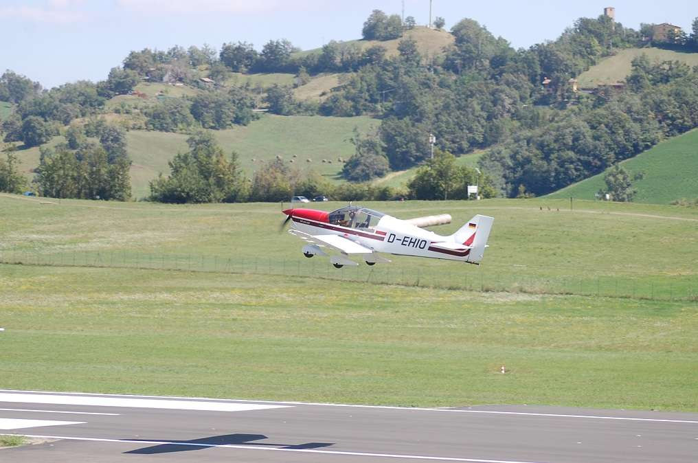Pilota d'aereo per un giorno a Modena