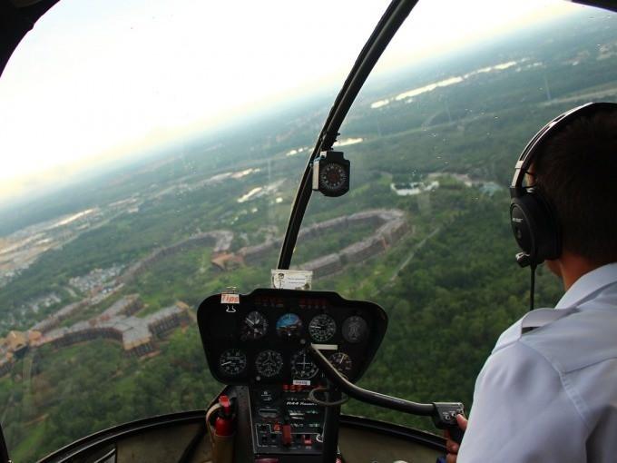 Pilota di elicottero per un giorno a Roma