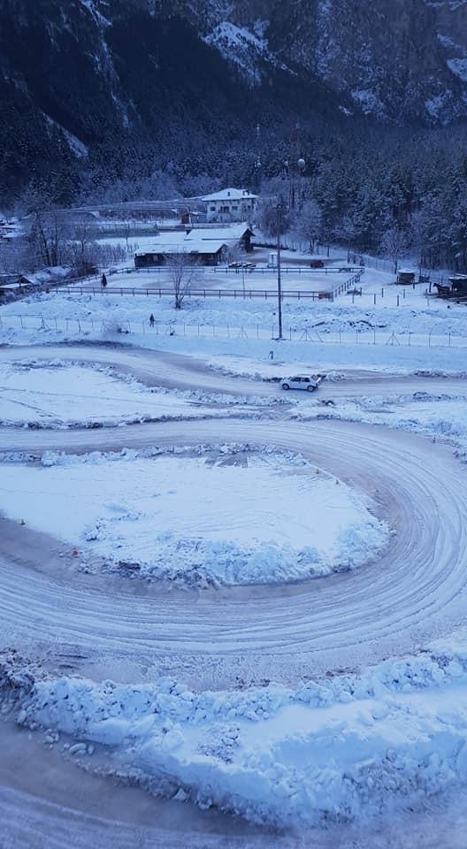 10 minuti in pista di Kart su Ghiaccio a Caldonazzo (TN)