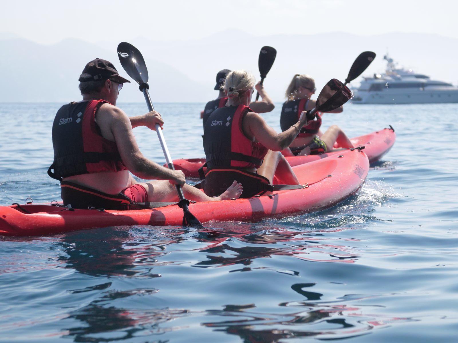 Portofino Kayak & Snorkeling Tour