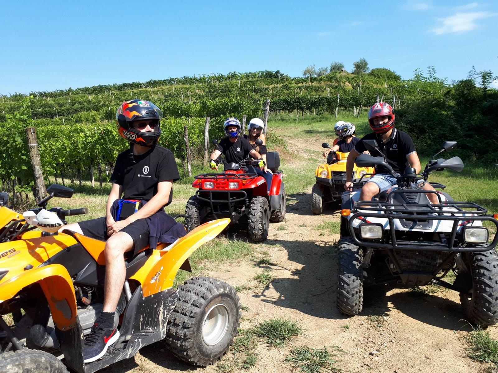 Quad tour off-road sui colli di Buttrio