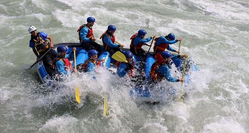 Rafting Adrenaline sull'Adda in Valtellina