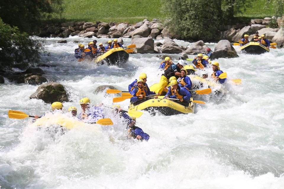 Rafting Adrenaline Experience sul fiume Noce in Trentino