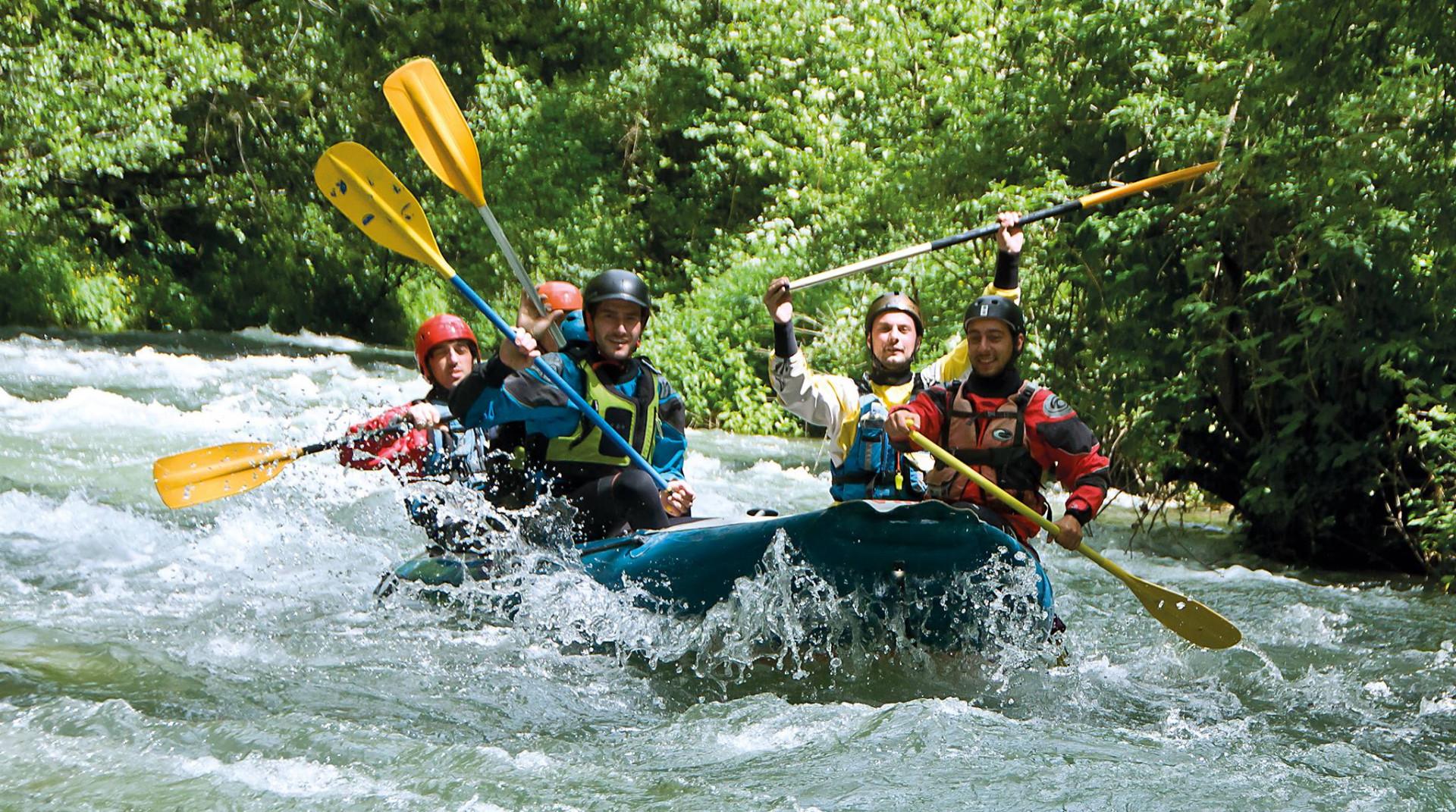Rafting Adventure sul fiume Corno in Umbria