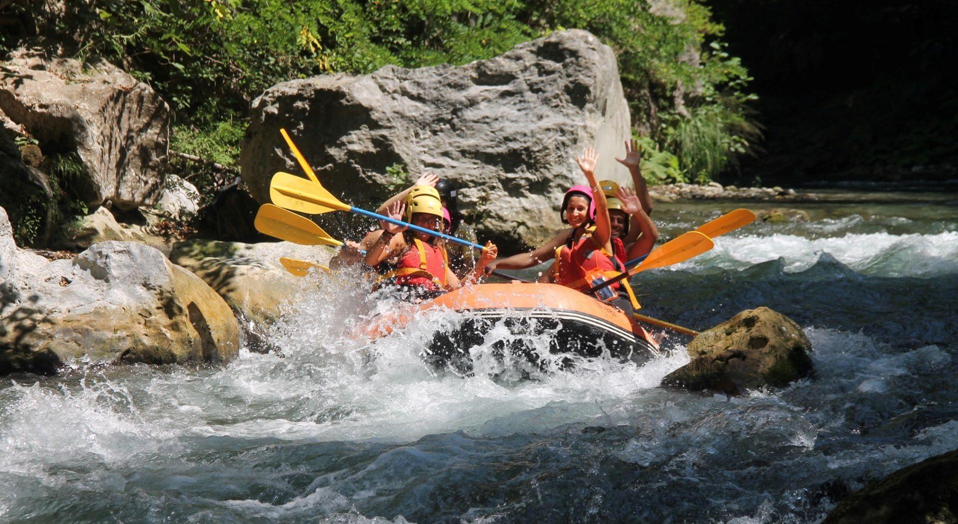 Rafting Adventure alle Gole del Lao nel Pollino