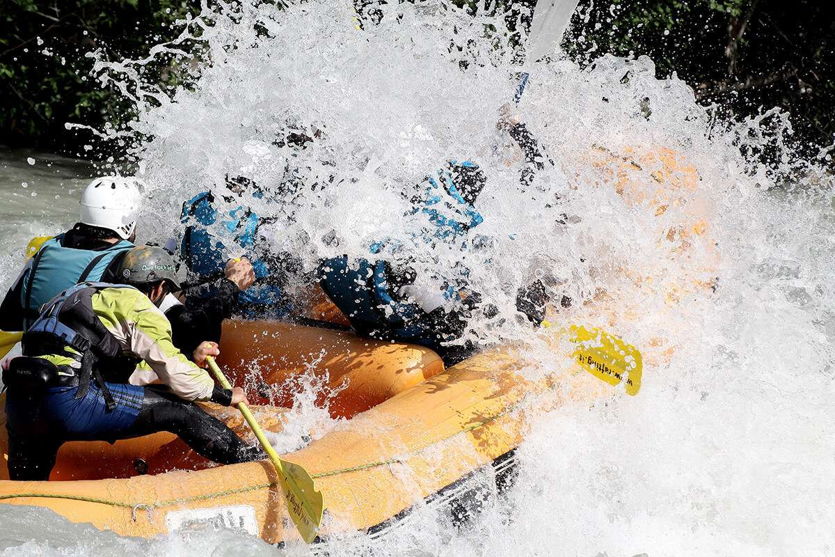 Rafting Classic Top lungo la Dora Baltea