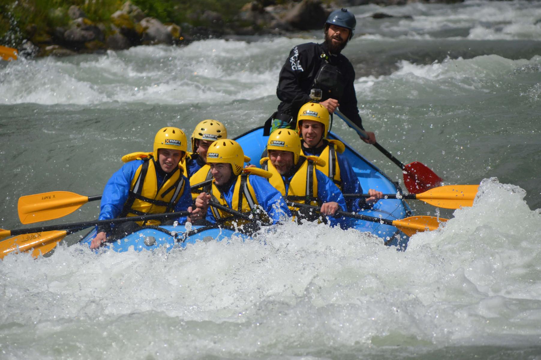 Rafting Colorado Slalom sul fiume Noce in Trentino