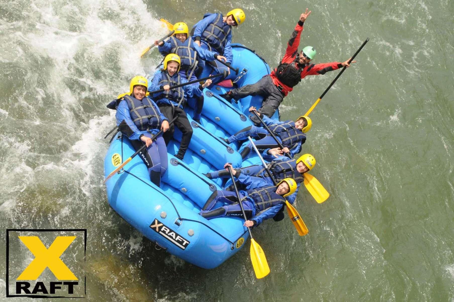 Rafting SUPER Integral sul fiume Noce in Trentino