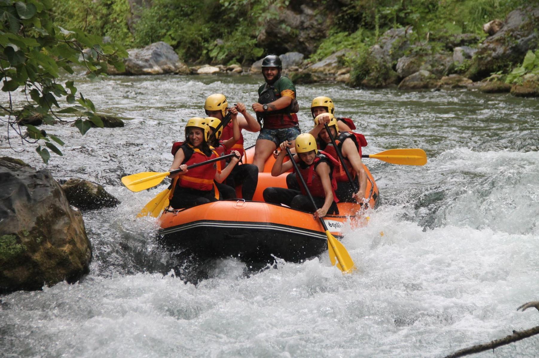 Rafting Experience alle Gole del Lao nel Pollino