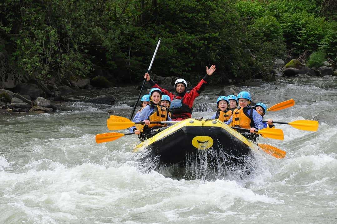 Rafting per tutta la famiglia in Val di Sole (Trentino)