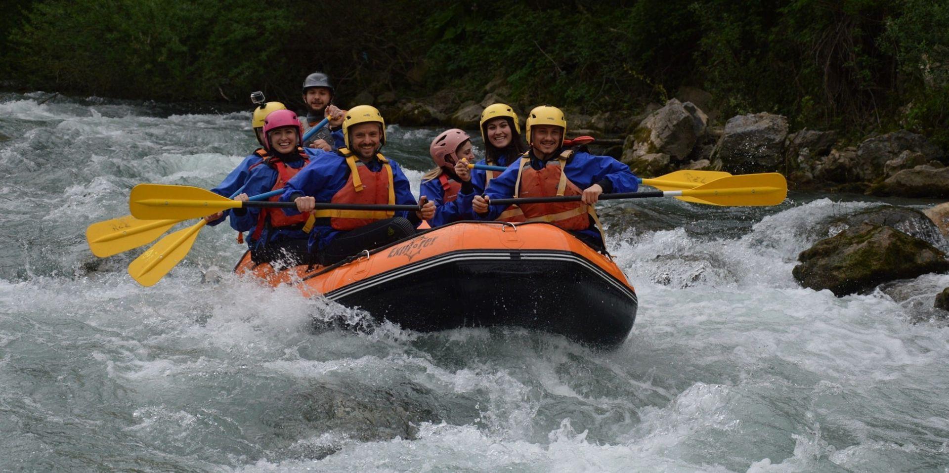 Rafting Full Explorer sul fiume Lao nel Pollino