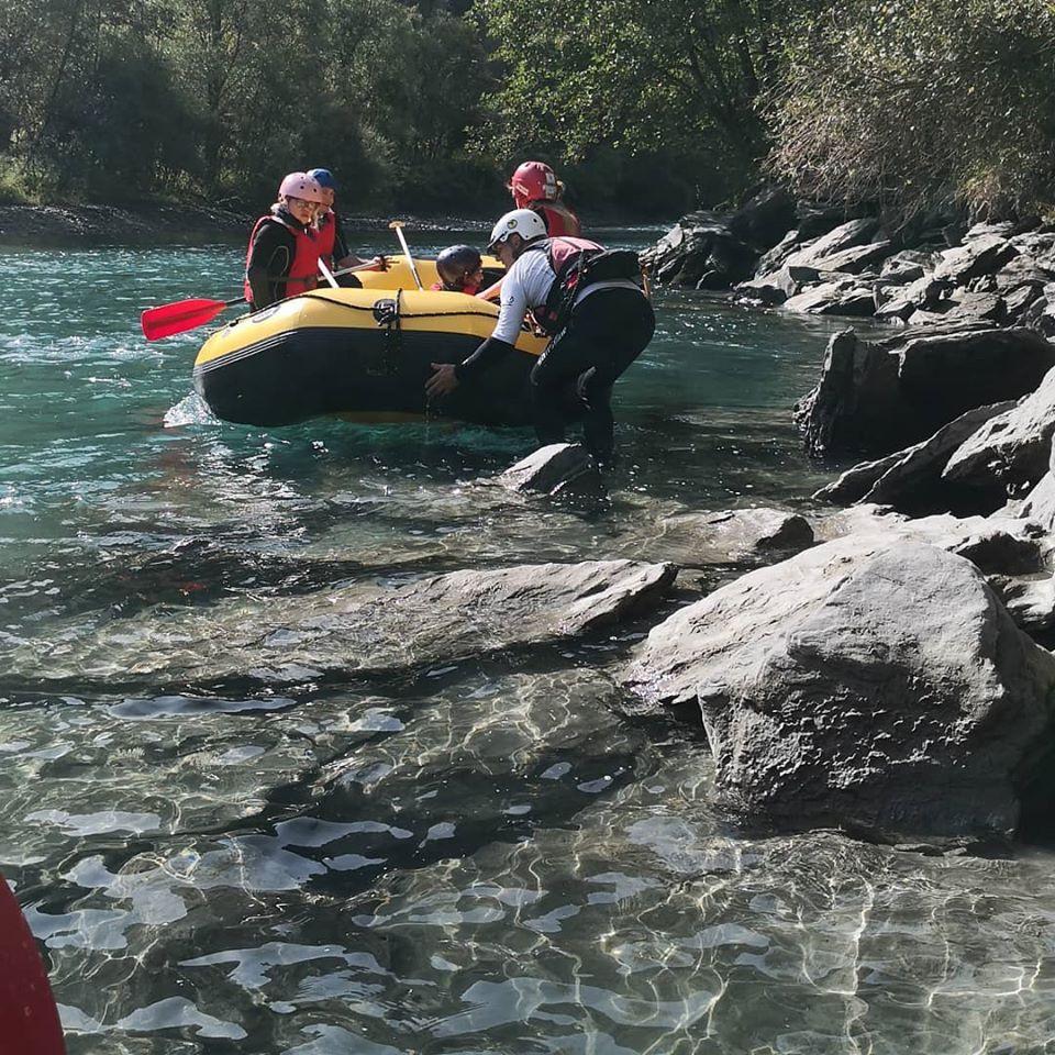 Rafting Fun sull'Adda in Valtellina