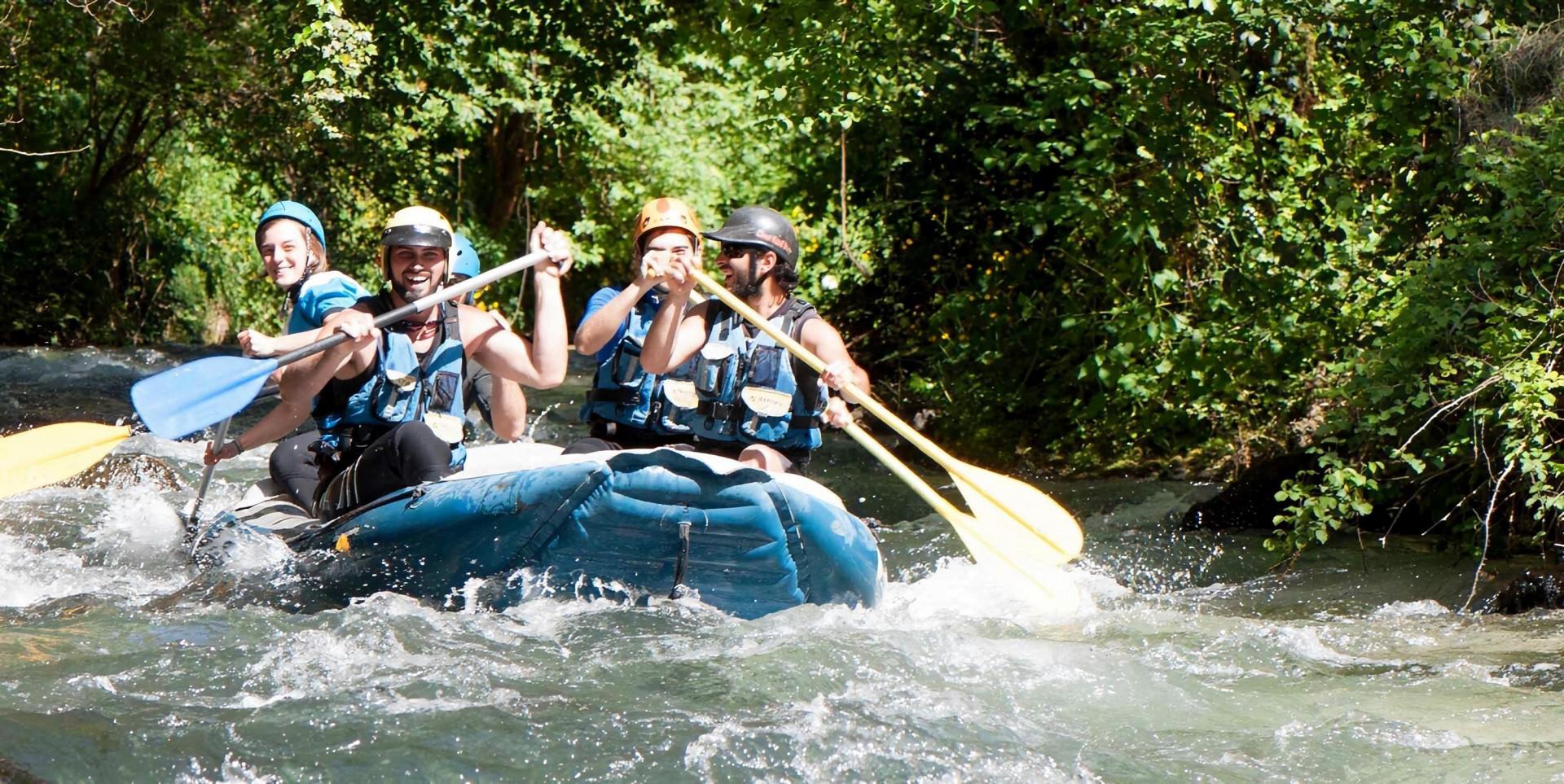 Rafting Fun sul fiume Corno in Umbria