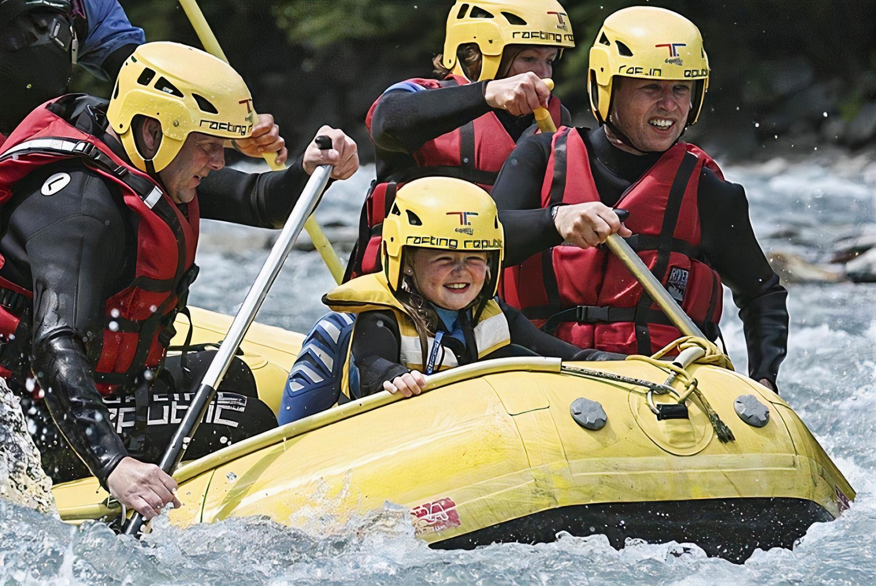 Rafting in famiglia sulla Dora Baltea