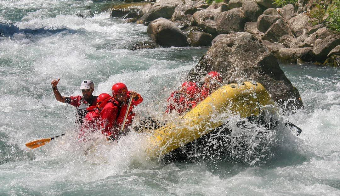 Rafting Marathon sul fiume Noce in Trentino