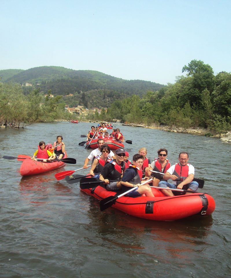 Rafting per tutta la famiglia sul fiume Serchio (LU)
