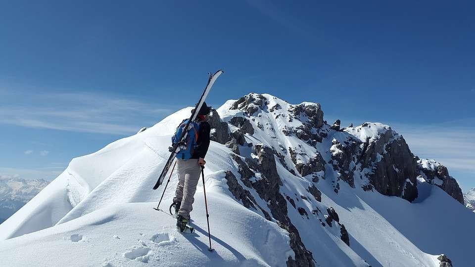 Sci Alpinismo all'Alpe Devero in Piemonte