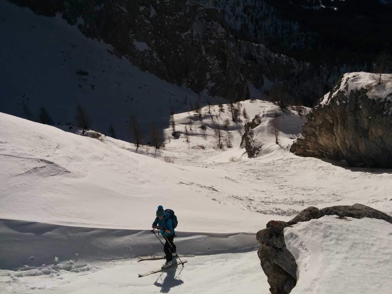 Sci-Alpinismo per principianti a Madonna di Campiglio