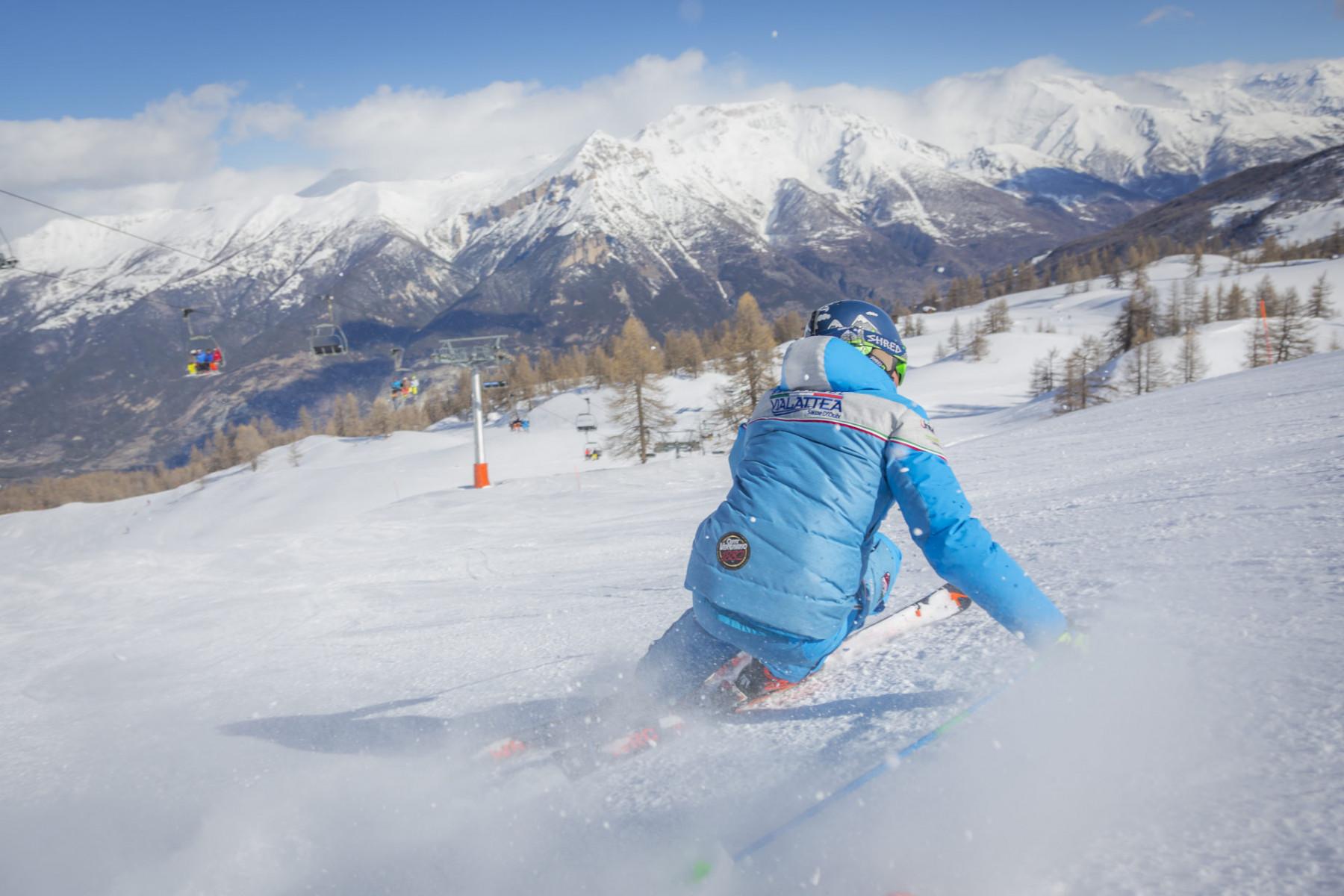 Ski tour privato