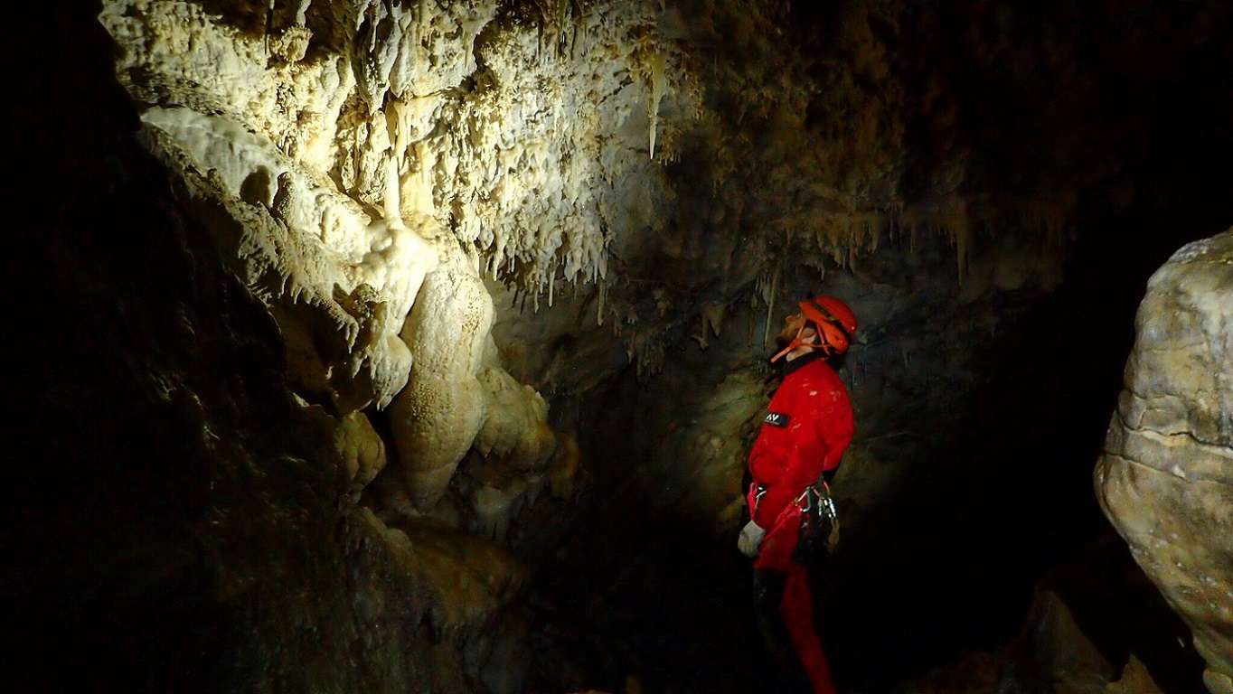 Speleo-canyoning Fonte Buia in provincia di Prato