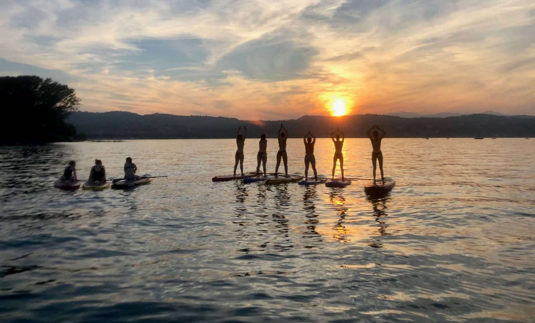 Sunset Stand Up Paddle Tour sul Lago di Garda