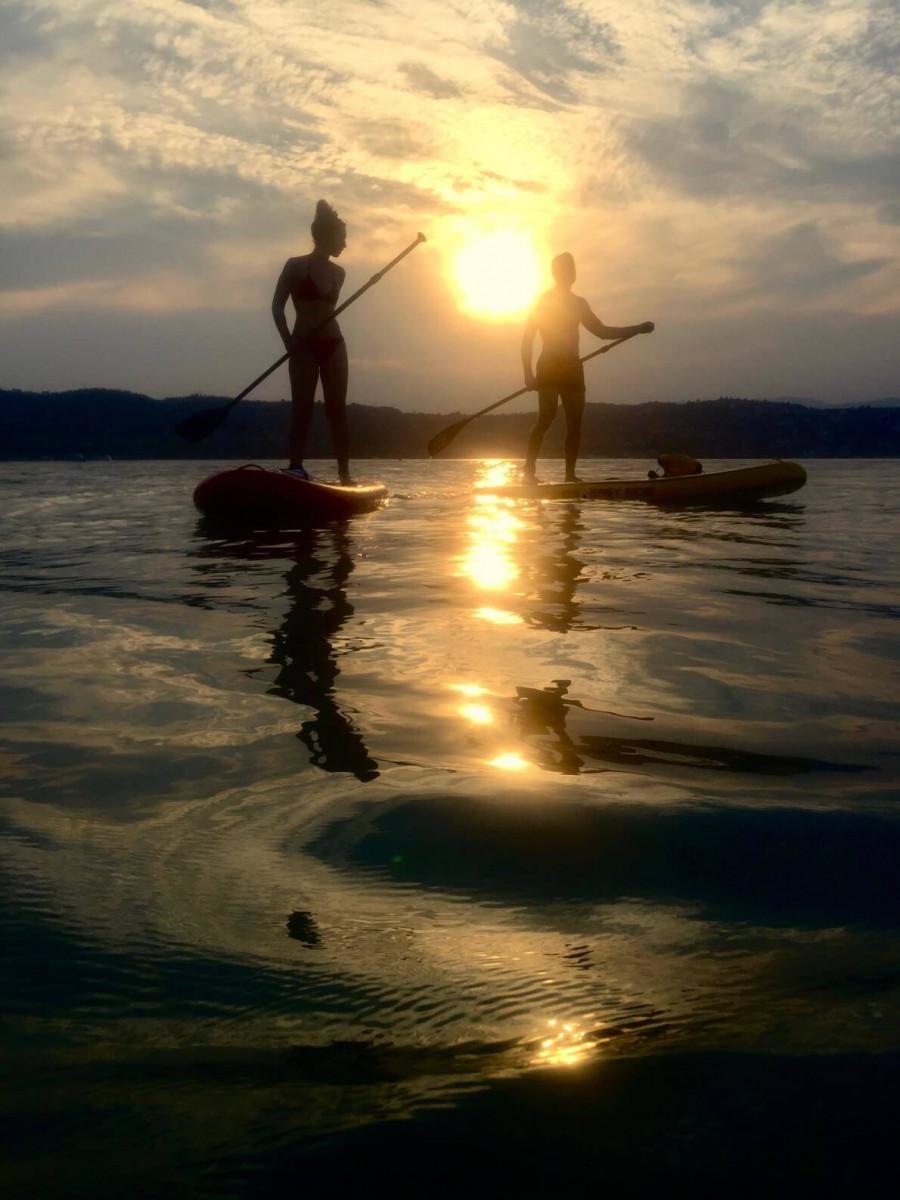 Sunset Stand Up Paddle Tour sul Lago di Garda