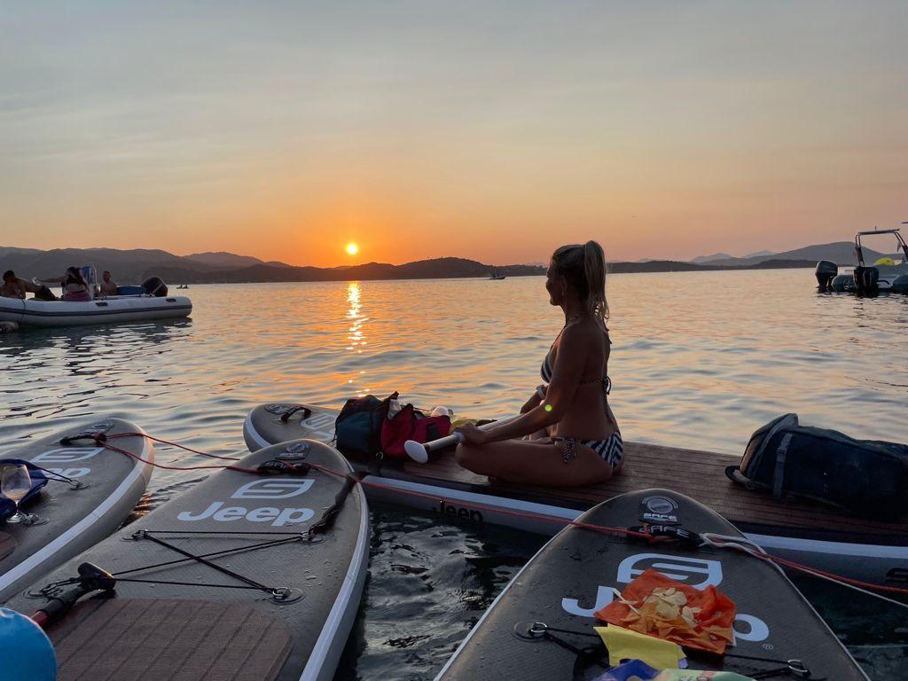 Sunset Stand Up Paddle a Cala Girgolu