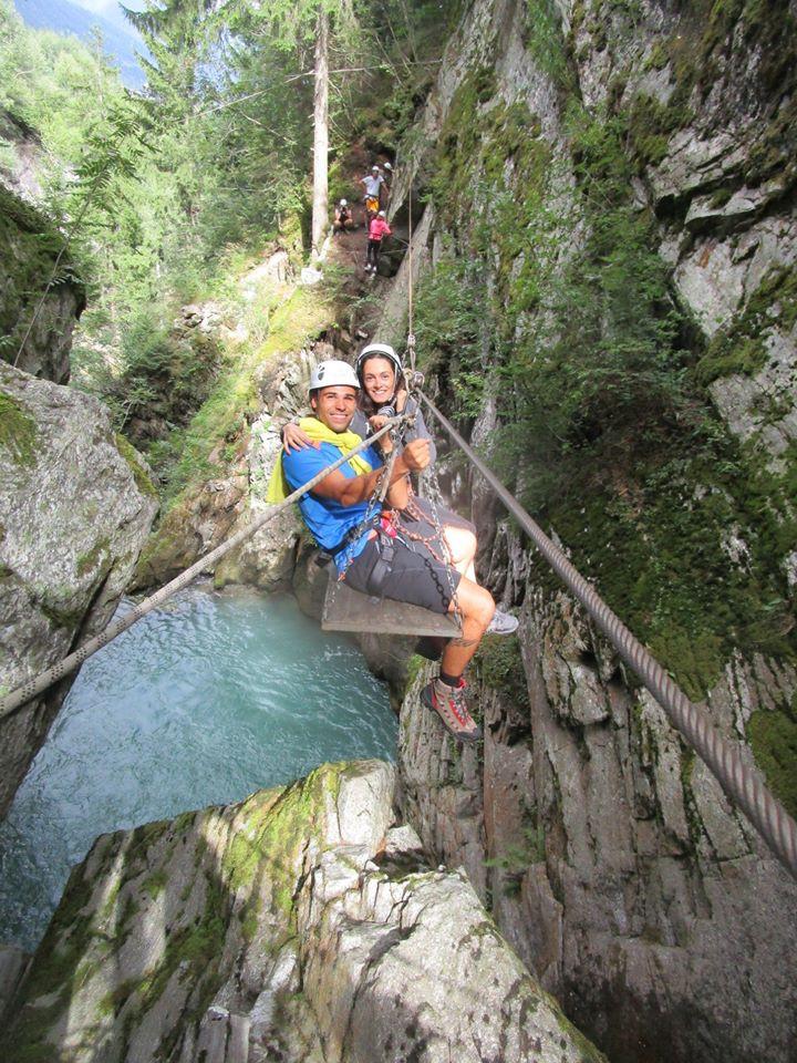 Tarzaning nella Val di Sole in Trentino Alto Adige