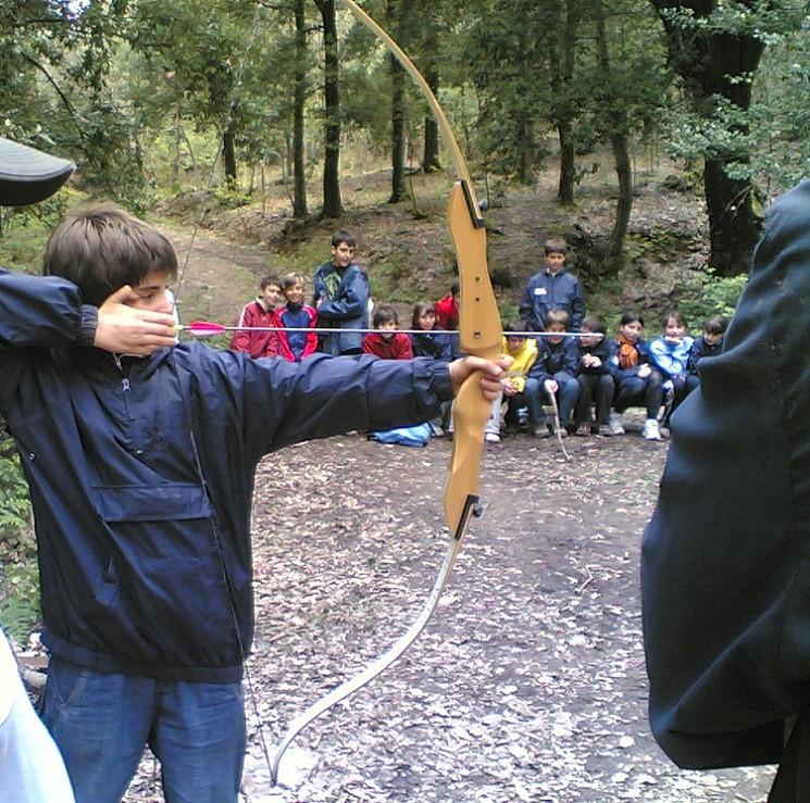 Tiro con l'arco e caccia simulata in Maremma