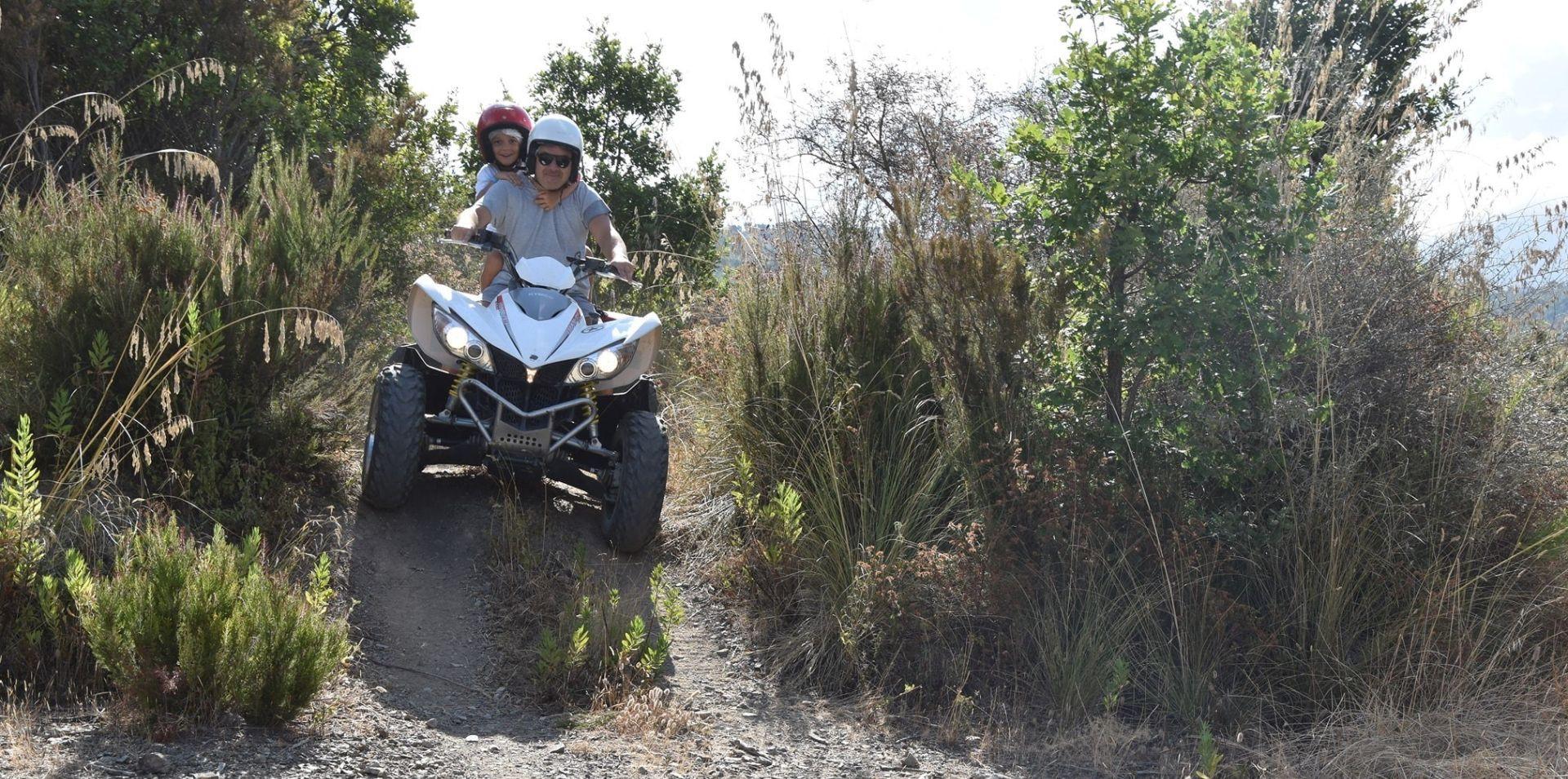 Tour avventuroso in quad nel Parco Nazionale del Pollino
