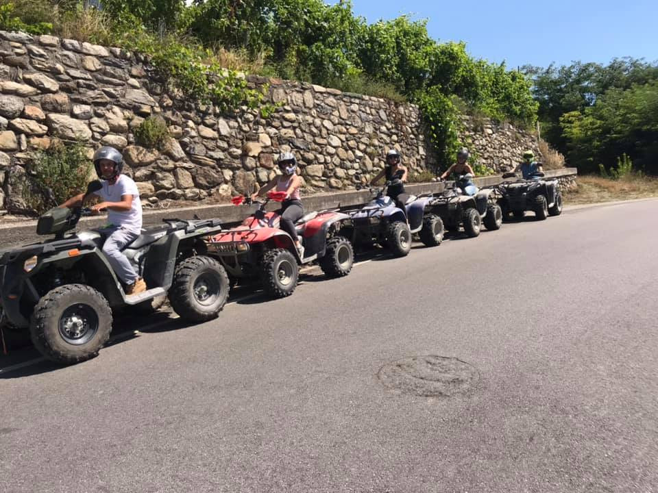 Tour avventuroso in quad in Valtellina