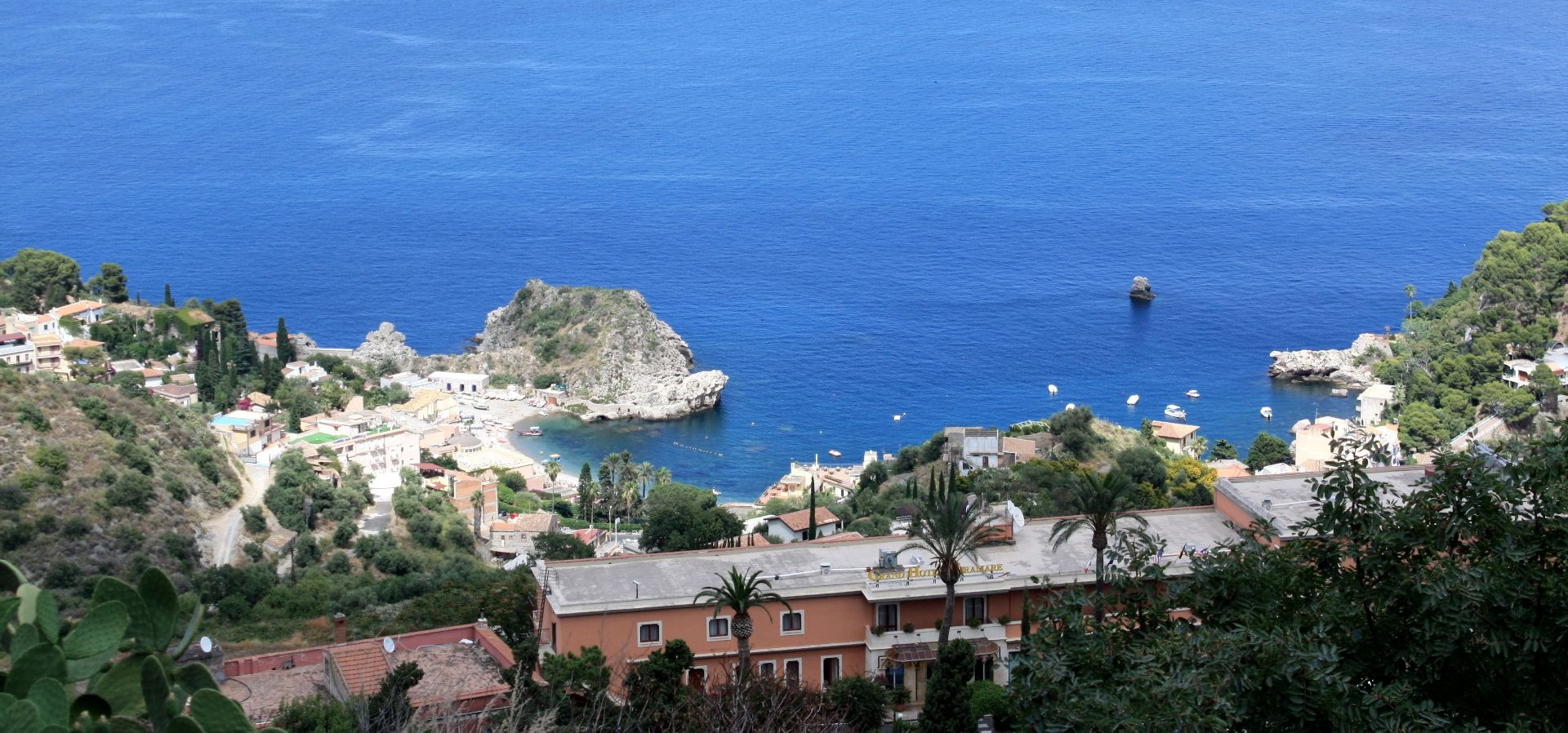 Tour in barca con aperitivo da Giardini Naxos a Taormina
