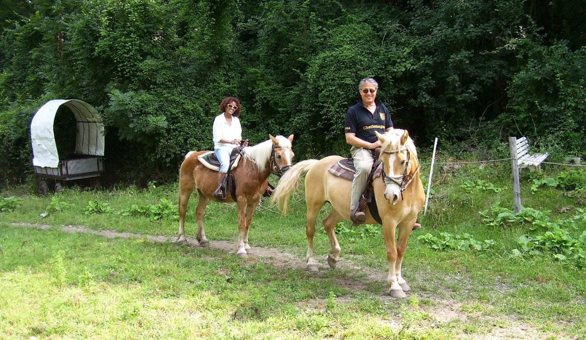Tour a cavallo ai Laghi di Avigliana in Val Sangone