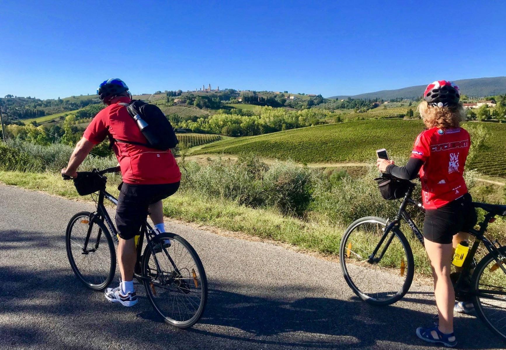 Bike tour giornaliero sui Colli del Chianti e Fiesole
