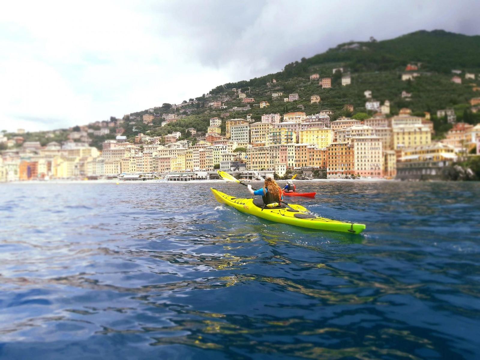 Tour giornaliero in kayak a Santa Margherita Ligure