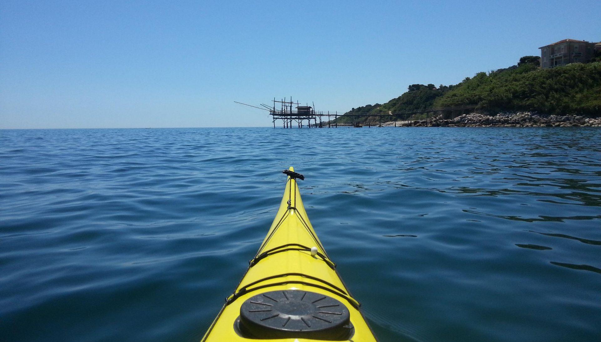 Tour in kayak sulla Costa dei Trabocchi