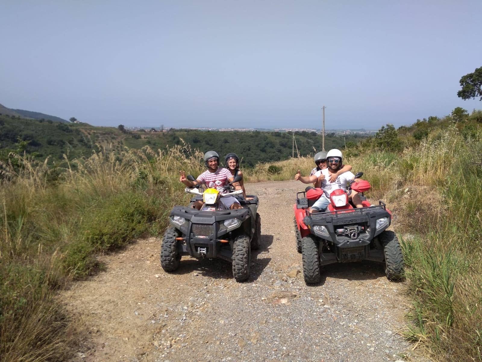Tour di mezza giornata in quad nel Parco Nazionale del Pollino