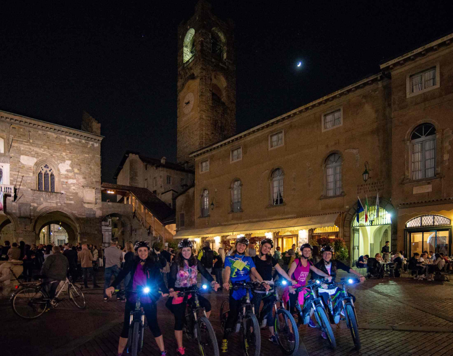 Tour panoramico di Bergamo in e-bike