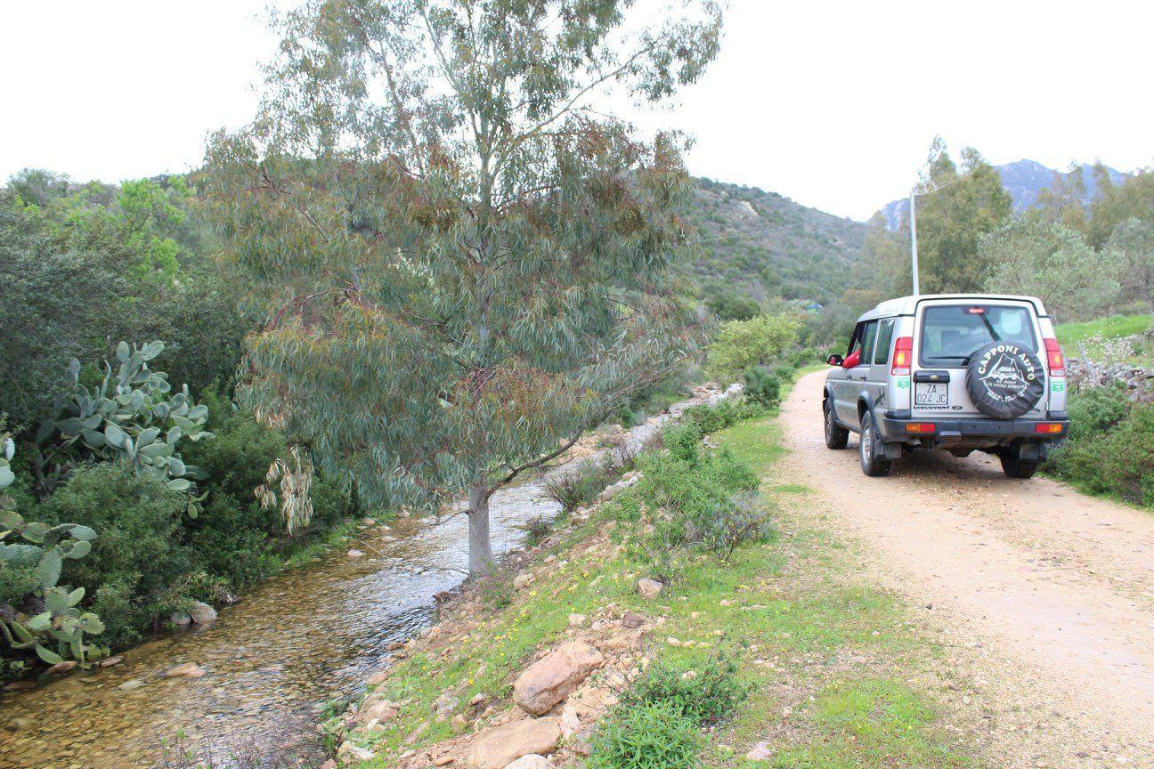 Tour privato in fuoristrada nella riserva naturale di Is Cannoneris