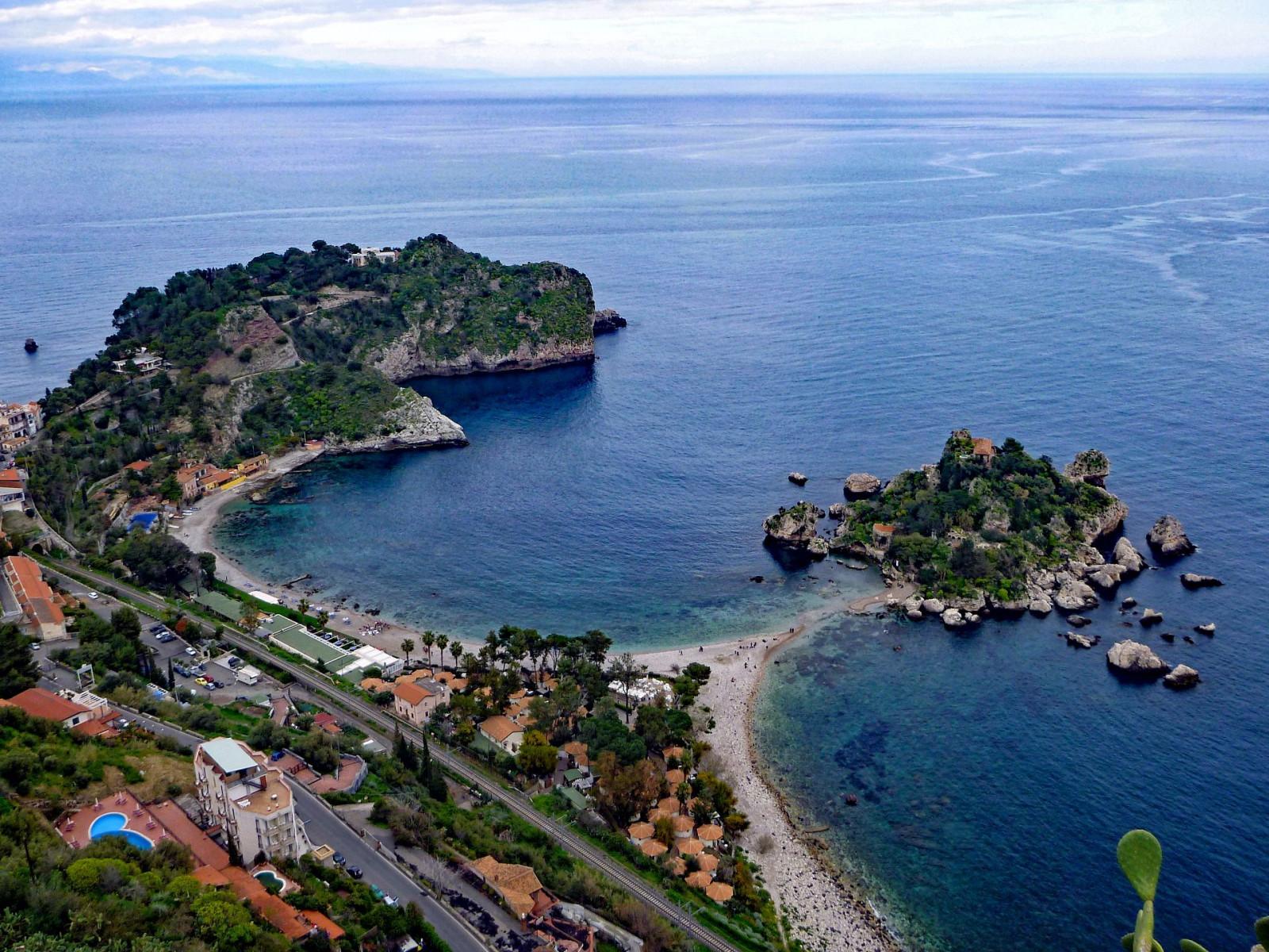 Tour privato in gommone nella Baia di Taormina